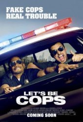 Lets be cops_poster
