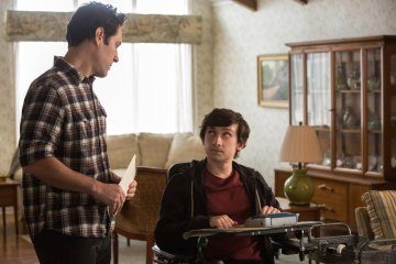 THE FUNDAMENTALS OF CARING, from left: Paul Rudd, Craig Roberts, 2016. ph: Annette Brown / ©